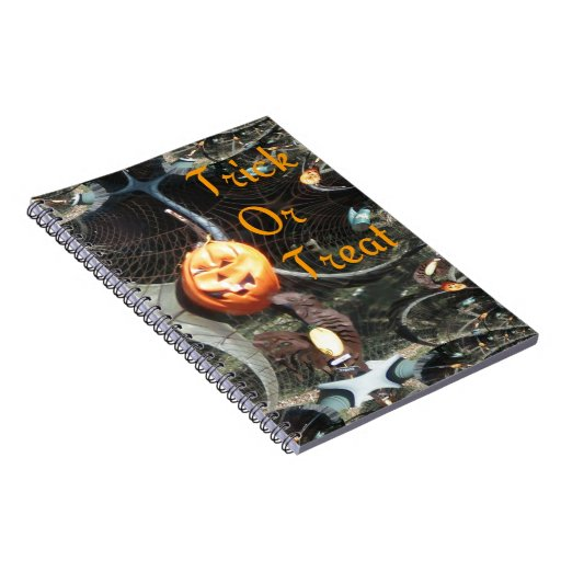 Trick or Treat Pumpkin Fractal Notebooks