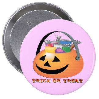 Trick or Treat Pumpkin Pin
