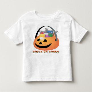 Trick or Treat Pumpkin Toddler T-Shirt