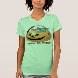 Trick or Treat Pumpkin Tee Shirts