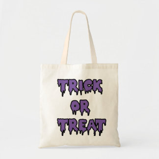 Trick or Treat - Purple Tote Bags