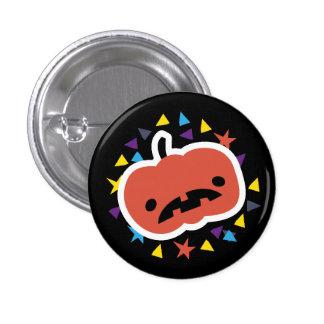 Trick or Treat! sad pumpkin 3 Cm Round Badge