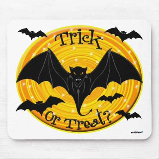 Trick Or Treat? Scary Bats Mousepad