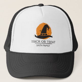 Trick or Treat Scary Witch. Add your Name. Trucker Hat