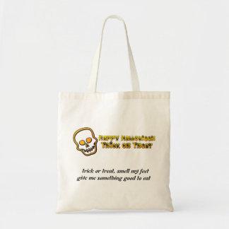 Trick or Treat Skull bag