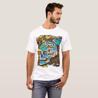 Trick or treat skull shirt