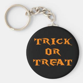 Trick Or Treat Spooky Keychain