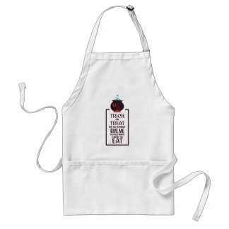 Trick Or Treat Sweet Candy Halloween Design Standard Apron