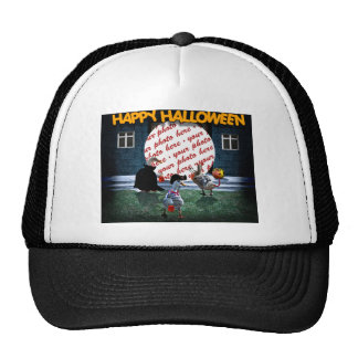 Trick or Treat Time for these Little Ducks Hat