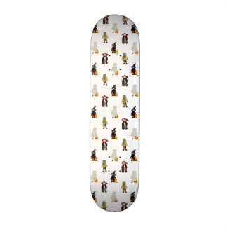 Trick or Treat Toddlers Halloween Monsters Repeat 21.3 Cm Mini Skateboard Deck