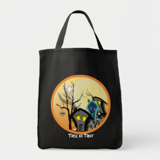 Trick or Treat Grocery Tote Bag