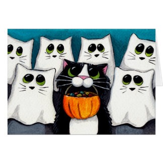 Trick or Treat (v.2) - Halloween Card