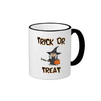 Trick Or Treat (Witch Costume) Coffee Mugs