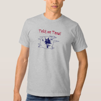 Trick or Treat-Witch Design T-Shirt
