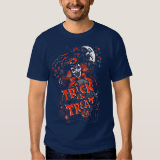Trick or Treat Witch Halloween (vintage) Tee Shirts