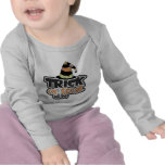 Trick Or Treat Witch Hat Halloween T-shirt