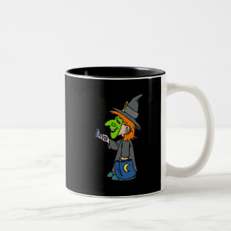 Trick or treat witch coffee mugs