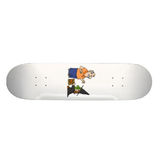 Trick or Treat Witch Skate Board Deck
