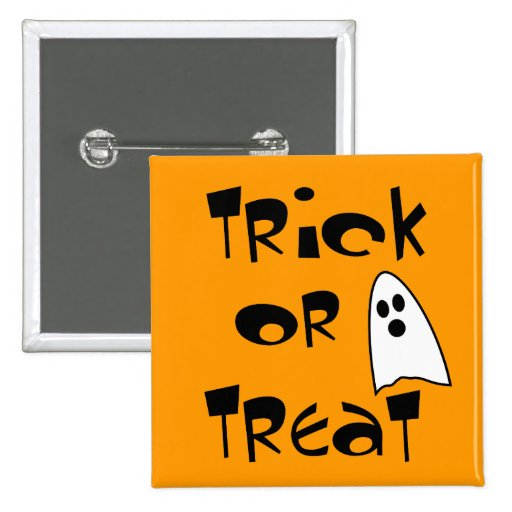 Trick Or Treat with Cute Ghost Pins