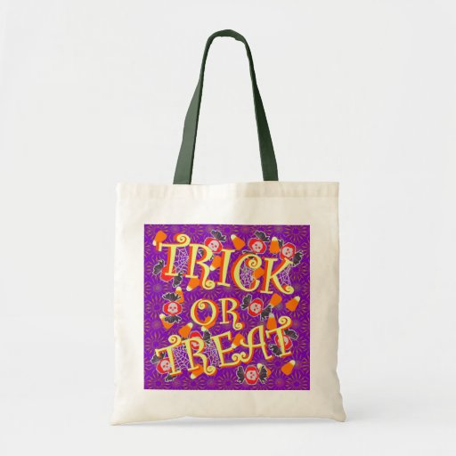 Trick or Treat with Halloween Candy Bag