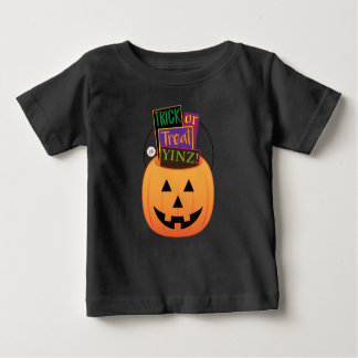 Trick or Treat Yinz! Design Baby T-Shirt