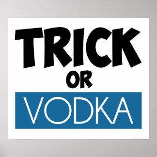 Trick or Vodka Poster
