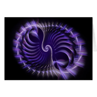 Trickery Fractal Greeting Cards