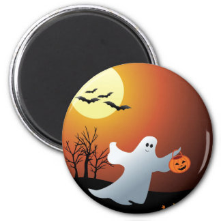 TrickOrTreat two Button Magnet