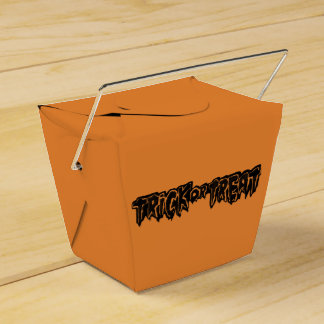 trickXtreat halloween Favour Box