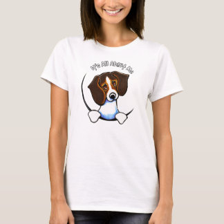 Tricolor Beagle Its All About Me IAAM T-Shirt