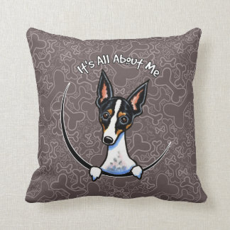 Tricolor Rat Terrier IAAM Cushion