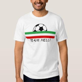 """Tricolor """"TEAM MELLI"""" Tshirts"""
