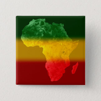 Tricolor Topographic Africa II 15 Cm Square Badge