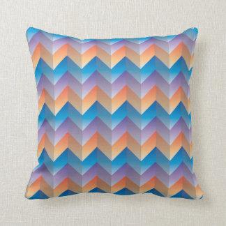 TriColor ZigZag Pillow