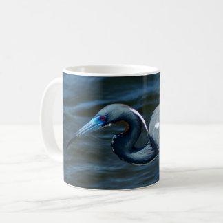 Tricolored Heron Photograph On Coffee Mugs