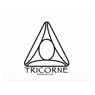 Tricorne Media Logo Designs Postcard