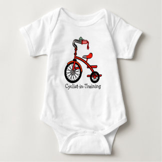 Tricycle Design Clothing Baby Bodysuit