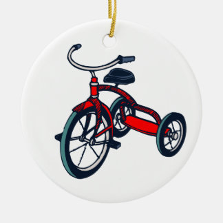 TRICYCLE ROUND ORNAMENT