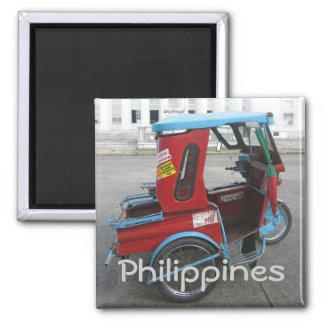 Tricycle Square Magnet