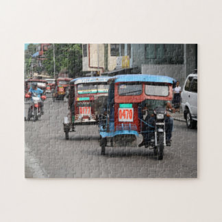 Tricycles Jigsaw Puzzle