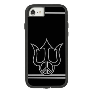 Trident - Peace Sign - Peace through Strength. Case-Mate Tough Extreme iPhone 8/7 Case