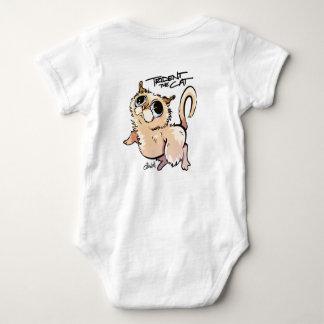 Trident the Cat Unisex Baby Jumpsuit