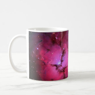 Trifid Emission Reflection Nebula M20 NGC 6514 Basic White Mug