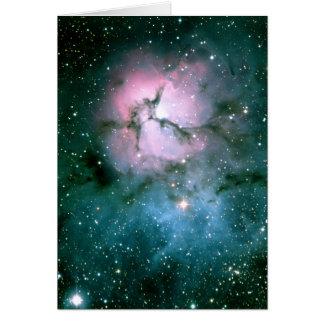 Trifid Nebula Card