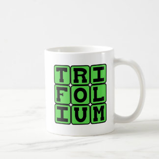 Trifolium, Three (Maybe Four) Leaf Clover Mugs