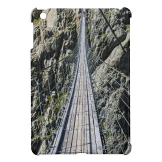 Triftsee Suspension Bridge - Gadmen - Switzerlan iPad Mini Cover