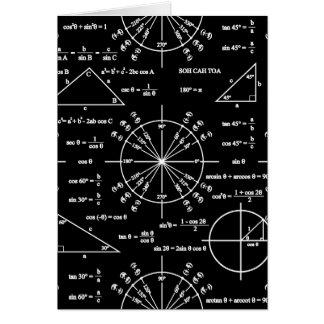 Trig & Triangles Card