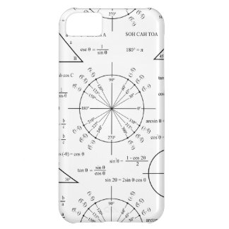 Trig & Triangles iPhone 5C Case