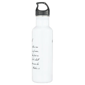 Triggered For God Water Bottle