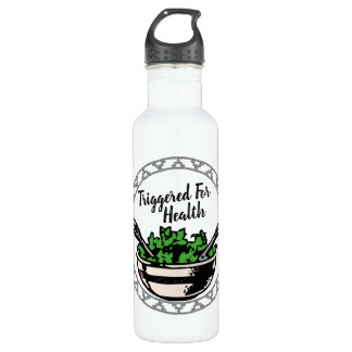 Triggered For Health Water Bottle